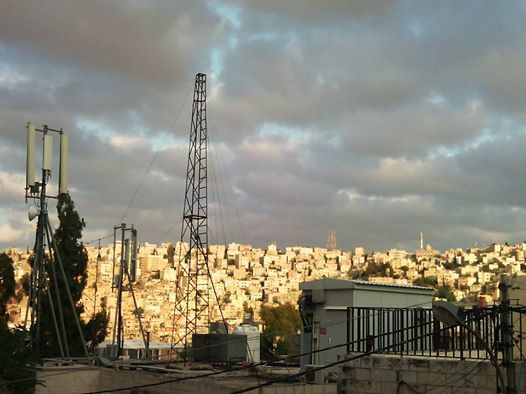 Amman in the evening